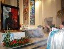 Obraz MATKI BOŻEJ ROBOTNIKÓW SOLIDARNOŚCI i relikwie bł. ks. Jerzego Popiełuszki w Weryni